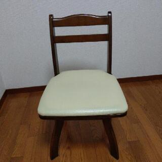 回転椅子 二脚