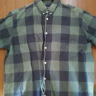 UP START   メンズ  半袖シャツ   XL