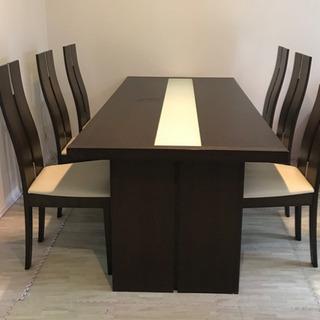 6人がけダイニングテーブルセット