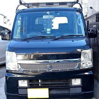 2010(H22) エブリィ ワゴン DA64W 黒 検R…