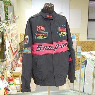 Snap-on レーシングジャケット Lサイズ ジャンパー ブル...