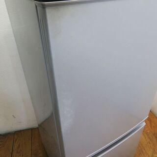 【京都市内方面配達無料】SHARP 便利な付け替えドア 137L 冷蔵庫 KL13 - 家電