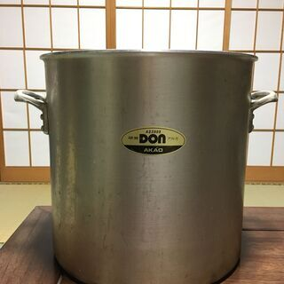 AKAO 39cmアルミ寸胴鍋売ります!