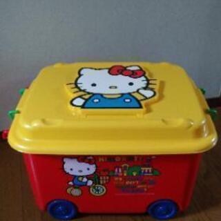 (取引中)ハローキティおもちゃ箱