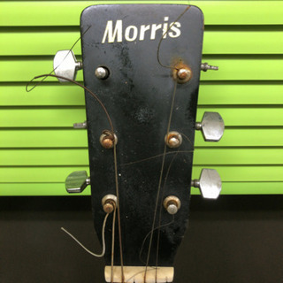 値下げ★中古★アコースティックギター Morris MD-501 ジャンク品 - 楽器