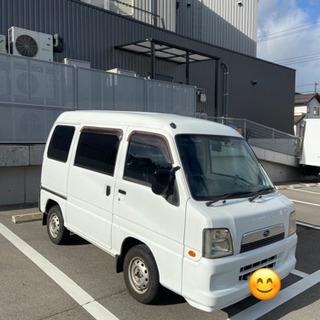 【ネット決済】サンバー 車検R3年3月 走行距離94400㎞ 1...