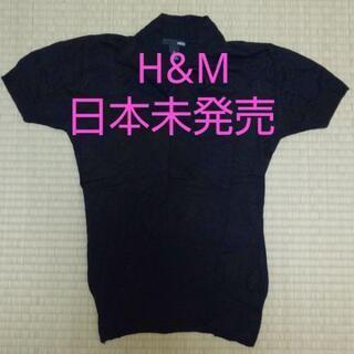 日本未発売レア‼️H&M リボンタイ 半袖ニットトップス …
