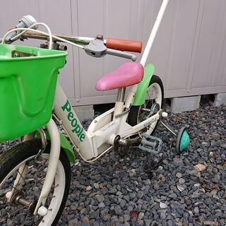 ジャンク 幼児 14インチ自転車 ピープル