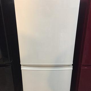 お安く! SHARP 2ドア 冷凍冷蔵庫 SJ-D14B …