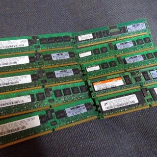 (M19-00) PCメモリ 1GB 10枚 現状品 パソ…