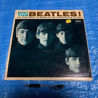 洋盤、MEET THE ビートルズLPレコード