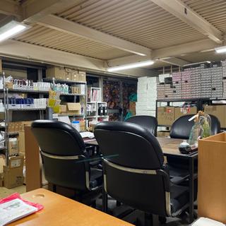 事務所内での簡単な荷受け、発送、管理