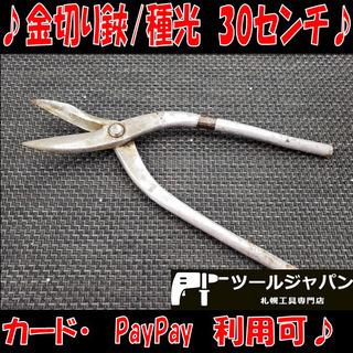 B8539 ステン用 金切り鋏 種光 鋏 全長約30センチ カー...