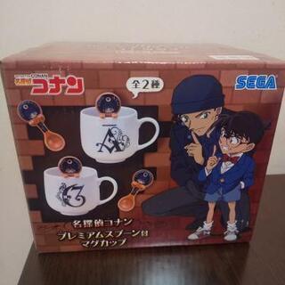 名探偵コナンスプーン付きマグカップの画像