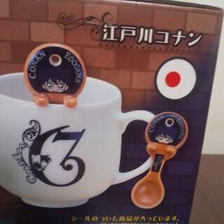 名探偵コナンスプーン付きマグカップ - 大阪市