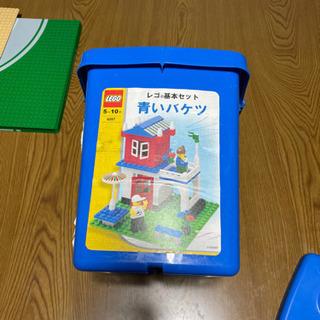 LEGO−青色バケツ ⇨  値下げ中 - 奈良市