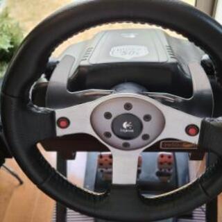 ロジクール G25 ステアリングコントローラー