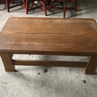 木製 テーブル 120×65×44cm