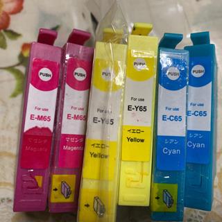EPSON インクカートリッジ E-M65 E-Y65 E-C6...