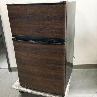 simplus シンプラス 2ドア冷蔵庫 SP-90L2-…