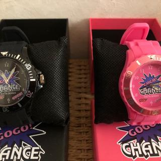 腕時計 ジャグラー シリコーンウォッチ 新品2個セット パ…