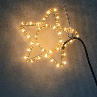 ガーデンライト 星形 5個