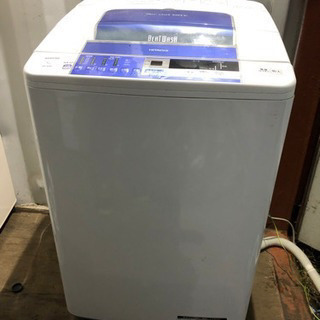 [重] S1126-108 日立洗濯機 BW-8SV 2014年...