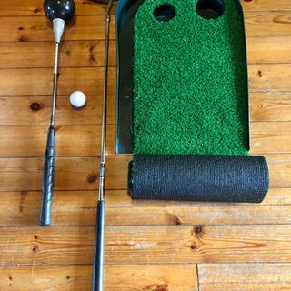パターマット ゴルフ練習 パター 素振り練習用クラブ