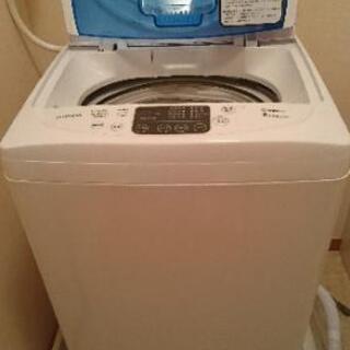 【2019年製 高年式 未使用】訳有り洗濯機 6kg