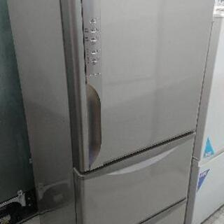 【クリーニング済】日立265リットル 3ドア冷凍冷蔵庫「R-K2...