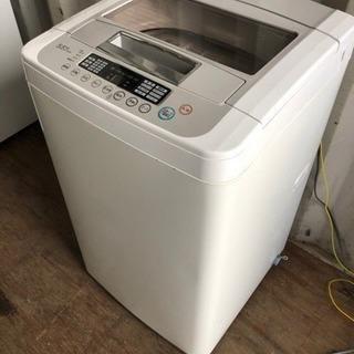 【重】S1005-106 LG洗濯機 WF-C55SW 2010...