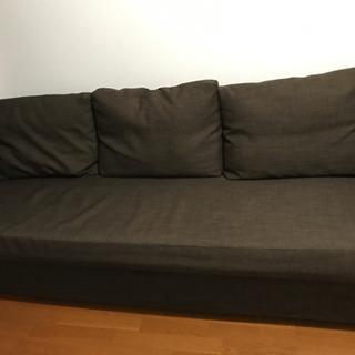 お譲り先(仮決定) IKEA 3人がけソファベッド FRI…