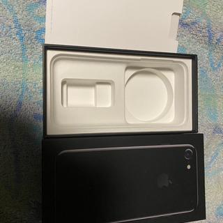 【最終値下げ】iPhone7 Jet Black − 北海道