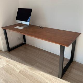 【極美品】かなでもの テーブル デスク 在宅 テレワーク リビング学習 - 売ります・あげます