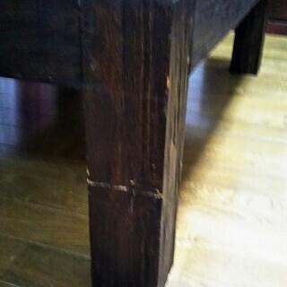 木製ローテーブル【無料 − 東京都