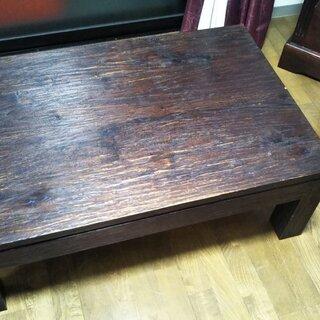 木製ローテーブル【無料 - 売ります・あげます