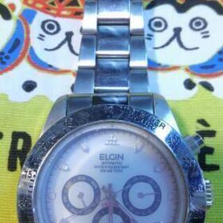 エルジン 自動巻き 腕時計 中古
