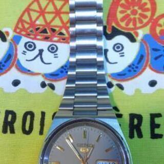 セイコー ファイブ 自動巻き 腕時計 中古