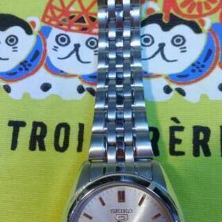 セイコー 機械式自動巻き 腕時計 中古