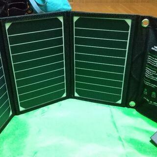 RAVPower ソーラー充電器 RP-PC008 (その1)