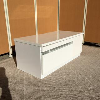 ☆年末セール☆家具大量処分☆ホワイトピアノ塗装テレビボード