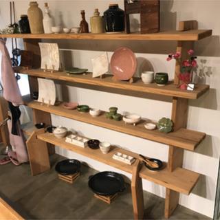 【ネット決済】おしゃれ雑貨店で使用した棚、椅子、机、照明まとめて