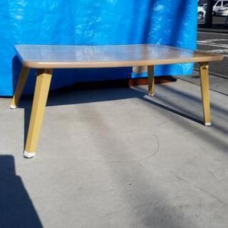 折畳みテーブル 幅75×奥行51×高さ29cm