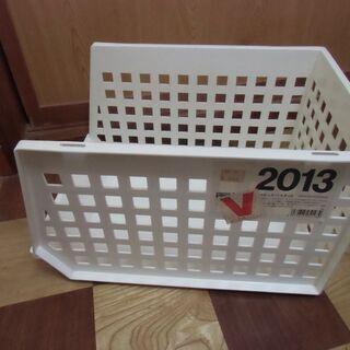 【取引成立】ストックバスケット(980円購入品)小物整理 …