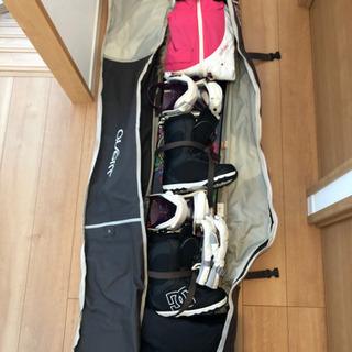 スノボ スノーボード 一式 セット レディース 女性 M