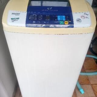 ハイアール洗濯機5 kg 2013年製別館倉庫浦添市安波茶…