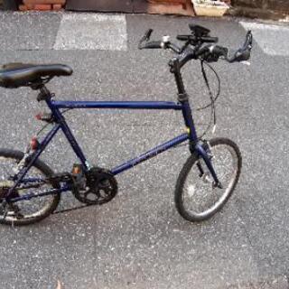 取引中本格ミニベロ自転車プチカスタム品まあまあきれい