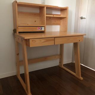 学習机②  デスク コンパクトタイプ 木製