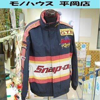 Snap-on レーシングジャケット Mサイズ ジャンパー ブル...