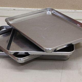 業務用ステンレス製バット10枚 薄型肉バット バット 厨房…
